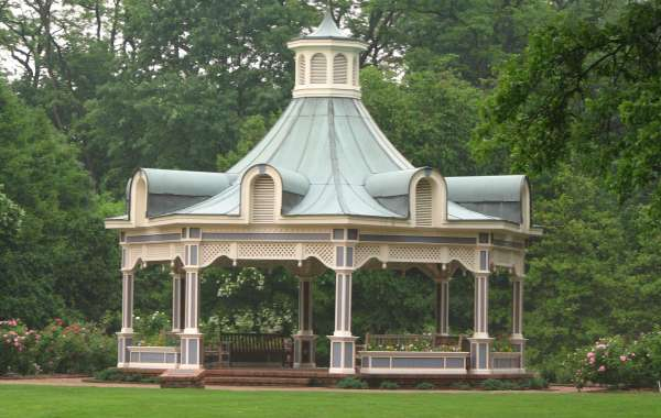 Time to use the pop up gazebo with sides